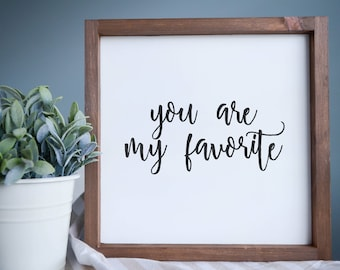 """Wood Wall Decor, Simple Rustic Sign 