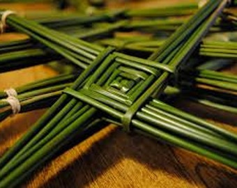 Make Your Own St Brigid's Cross From Authentic Wild Irish Rushes, Popular For Celtic, Basket, Pattern, Weaving Supplies, May Shipping Sale!