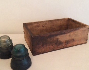 Antique Tobacco Crate Box
