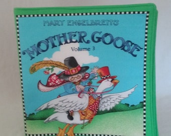 Mother Goose Cloth Baby Book