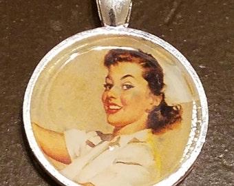 Nurse Pin-Up Pendant