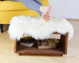 Reclaimed wood foot stool, foot stool, plant stool,  wood plant stool, end table, reclaimed wood, rustic decor, industrial furniture