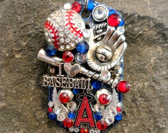 Anaheim Angels Dog Tag Pendant
