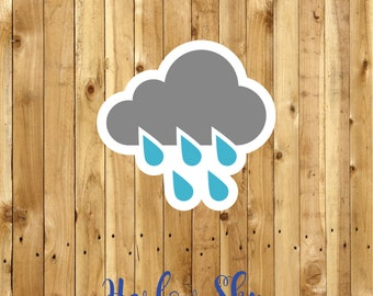 50 x Amazingly Super Rain Labels/Stickers Great for your packages/school/kids