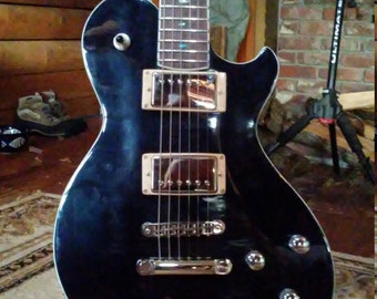 Gregory Guitars...None more Black