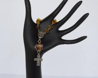Topaz Single Decade Rosary