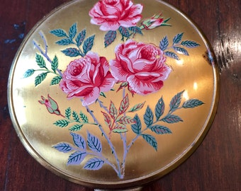 Beautiful Vintage Powder Compact