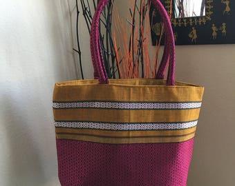 Shoulder bags,Satchel bags,Fabric shoulder bag-Pink-Preorder