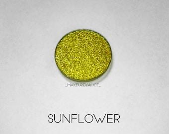 Pressed Glitter Eyeshadow - 'Sunflower'