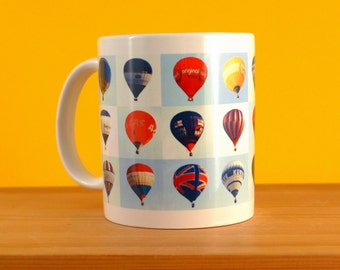 Balloons   Hot Air Balloon Mug   Mug For Flight Lovers   Collections of Collections   Air Ride   Gift Idea   Around The World In 80 Days