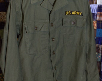 Rare Vintage World War 2 U.S. Army combat shirt.