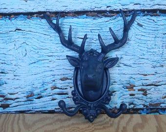 Deer Head Hook Etsy