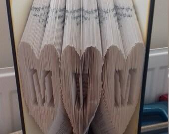 Handmade MUM cut n fold combi book