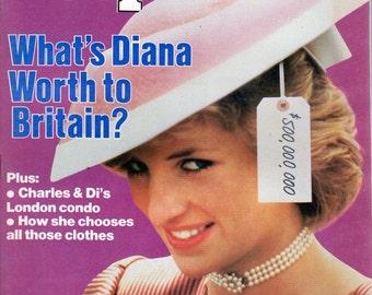 People Magazine November 11, 1985 What's Diana Worth to Britain?
