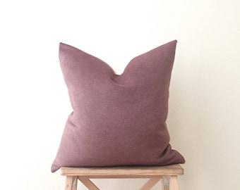 Marsala | Cashmere Pillow
