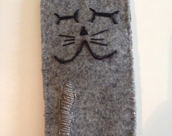 Cat Pouch or eyeglass case