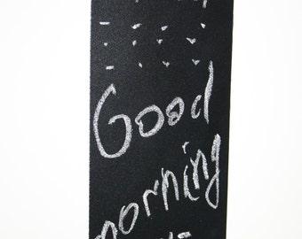 Set of 7 Chalkboard Magnets - Chalkboard Fridge Magnet - Blackboard Magnet - Refrigerator Magnet - Kitchen Chalkboard Magnet