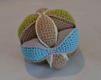 ball puzzle crochet inspiration MONTESSORI