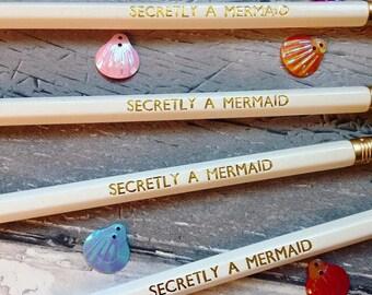 Secretly a Mermaid HP Pencil