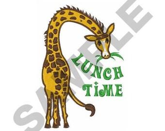 Giraffe - Machine Embroidery Design