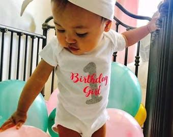 Birthday Girl Baby Onesie // Birthday Onesie  // Baby Onesie // Funny Baby shirt // Funny Baby Onesie