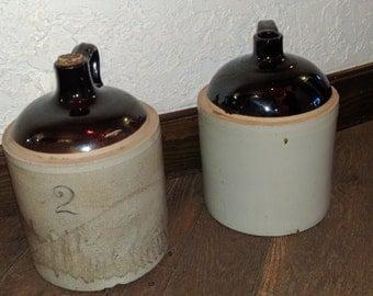 Vintage whiskey jug