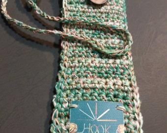 Door electronic cigarette 100% cotton crochet