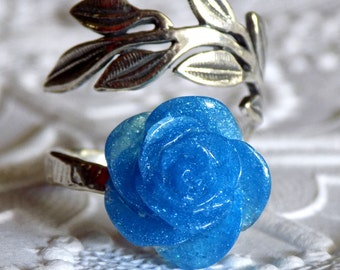 Blue Winter Rose Ring, Lyanna Stark, A Song of Ice and Fire, Game of Thrones