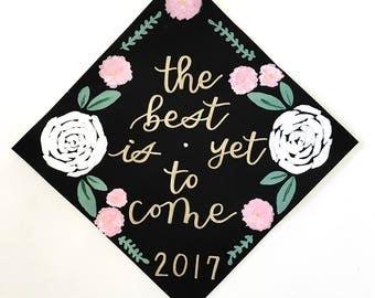 CUSTOMIZABLE // Graduation Cap Topper Designs