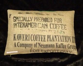 """Pillowcase original coffee bag cushion """"Kaweri"""", 60 x 40 cm"""