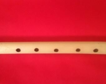 "Romanian ""Fluier Ciobanesc"" Dobrogean Style medium size Shepperd Flute"