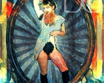 Erotic Sideshow Series: Greta the Bearded Lady