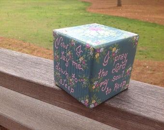 Teal Prayer Box