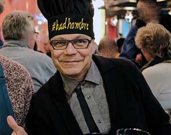 Bad Hombre Chef Hat #badhombre Custom Monogram Embroidered Resist