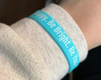 Inspirational Quote Wristband