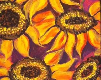 cosmic sunflower