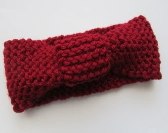 Knit Ear Warmer/Headband
