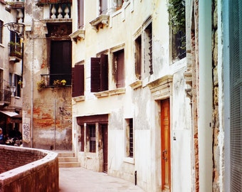Pretty Venetian Print, Venice Italy Decor, Travel Photography