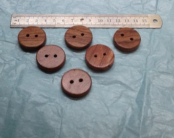 exotic wood buttons handmade/exotic wood buttons