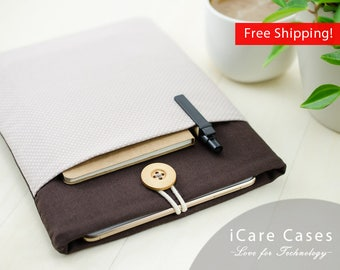 Case for MacBook Air 11 Polka Dot Brown Gift for Her Cute Soft Case MacBook Air 11 Protective Case