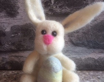 Rabbit - bunny - Easter - Easter Bunny - needle felting
