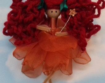 fairy, pixie, doll, ornament