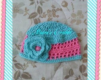 Beautiful Baby Crochet Hat