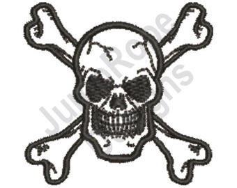 Skull & Crossbones - Machine Embroidery Design