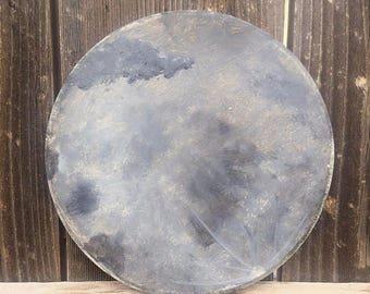 Wood Moon Wall Art