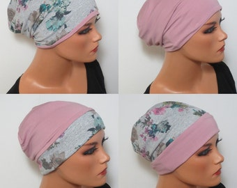 2 in 1 WENDEBEANIE/Cap colorful fashionable practically convenient comfort gray