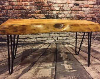 Coffee table bench