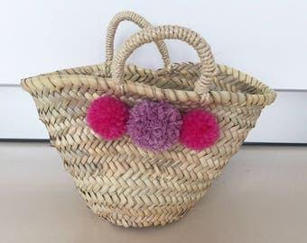 Small Ibiza bag basket for kids