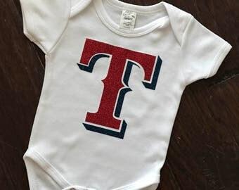 Rangers baby onesie