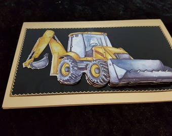 Handmade  cards for all occasions, special individual gifts for him (Front End Loader)